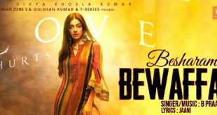 Besharam Bewafa Song Divya Khosla Kumar MP3 Download