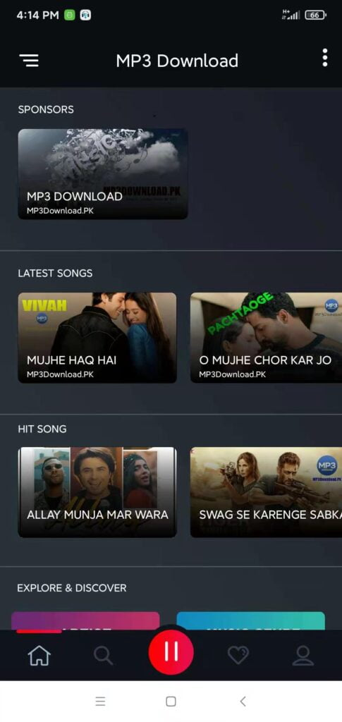 MP3Download.PK Android App
