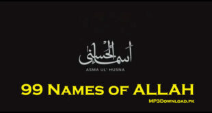 99 Names of ALLAH Ramzan Special MP3 Download Dawar Farooq